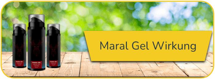 Maral Gel Wirkung