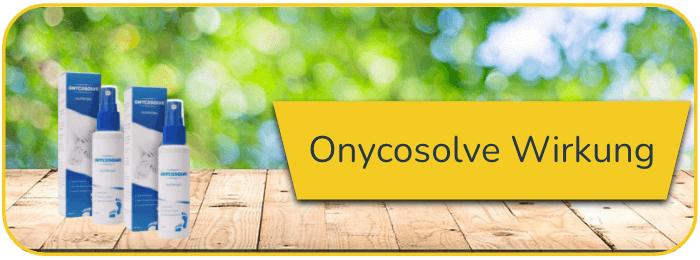 Onycosolve Wirkung
