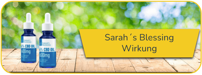 Sarah´s Blessing Wirkung