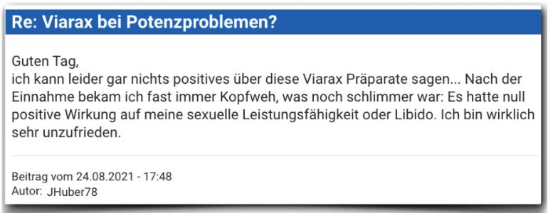 Viarax Erfahrungsbericht Bewertung Erfahrungen Viarax